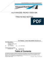 CADAp CADApps Advanced Road Design for AutoCAD Training Notesps Advanced Road Design for AutoCAD Training Notes