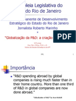 Globalização da P&D