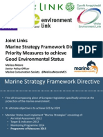 Joint Links Marine Strategy Framework Directive Priority Measures To Achieve Good Environmental Status