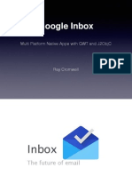 Gwtcreate 2015 - Gmail Inbox