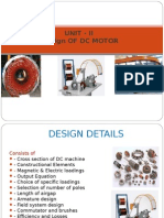 Design of Dc Motor