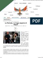La Parlesia, La Lingua Segreta Di Napoli-Eroica Fenice