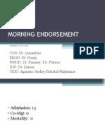 Endorsement Jan 22 2015