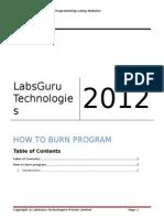 How to Burn Program
