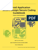 Android Application Secure Design/Secure Coding Guidebook
