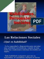Habilidades Personales y Sociales