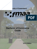 FMAA Bachelor of Commerce Guide - 2015 Edition