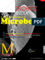 Beneficial & Negative Effects of Microbes Microbioz India,February 2015 Issue