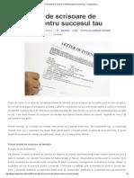 3 Variante de Scrisoare de Intentie Pentru Succesul Tau - Campuscluj