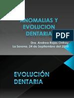 Anomalias y Evolucion Dentaria en Radiologia