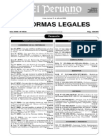 Ley Declaratoria Emergerncia Ambiental