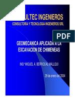 Geomecanica aplicada chimeneas