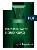 Incidentes Gestion de Riesgos