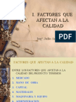 FACTORES DE  LA  CALIDAD.ppt