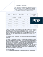 Estate and Donor's Taxes