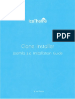 Joomla Guide 3.0 With Cloner