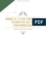 Anna O. ensayo sobre los origenes de la histeria conversiva