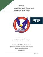Referat IKA Pendekatan Diagnostik Penurunan Kesadaran Pada Anak