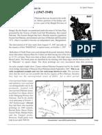 East Pakistan Overprint 1947-49