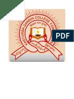 Kasturbha College Logo