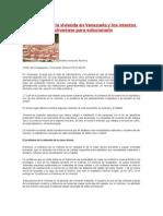 El problema de la vivienda en Venezuela y los intentos del Gobierno Bolivariano para solucionarlo.docx