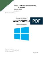 Seminarski Rad Windows 8