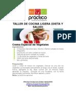 Taller de Cocina Ligera (Dieta y Salud)