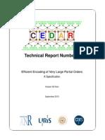 Cedar Report 4