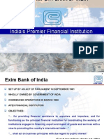 Export Import Bank of India