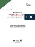 I-03.Metodologia Para La Formulación de Perfiles de Competencias Para Trabajadores Del Primer Ni