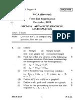 MCS-033(2013)