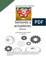 Sensores Del Vehículo Trabajo de Motores 2014