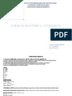 Ejercicios Física Unidad VI