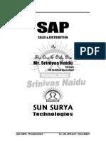 Sap Sd Srinivas Naidu