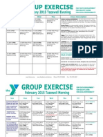 Tazewell February 2015 Group Exercise