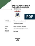 Investigacion de Mercados - cancha sintetica