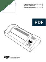 gbc 13 service manual laminator