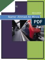 Ahmad Ali Mirza {Group -Ct 5}