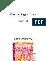 Dermatology in 2hrs