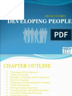 Developing People Ppt