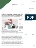Crónica argentina, modelo siglo XXI