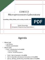 COM353 Lab1 Presentation