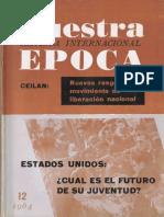 Revista Internacional - Nuestra Epoca N°12 - diciembre 1964