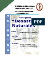 MONOGRAFIA DESASTRES NATURALES