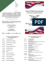 Collegians Program 2014