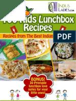 100 Kids Lunchbox Recipes Book