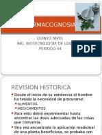 FARMACOGNOSIA INTRODUCCIÓN