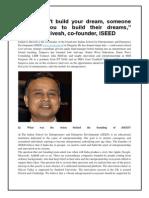 ISEED Interview_Sanjeeva Shivesh