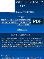 The Remnant of Revelation 12 & 17