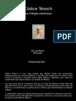 Códice Ténoch (el proyecto en PP)